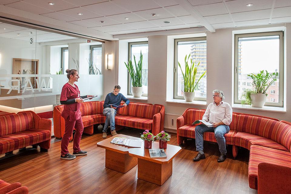 Wartezimmer Kardiologische Praxis Gelsenkirchen